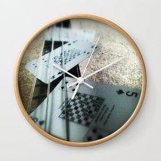Bass Cards  Wall Clock