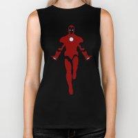 Mr. Stark (Iron Man) Biker Tank
