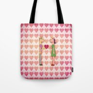 Whole Heart Unicorn Tote Bag