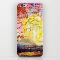 Vegan Eggyolk behind a Tree iPhone & iPod Skin