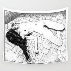 asc 657 - Le mystère de la Rue de Cluny (The housewife nightmare) Wall Tapestry