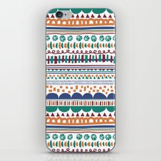 Playful lines iPhone & iPod Skin