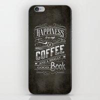 Coffee - Typography iPhone & iPod Skin