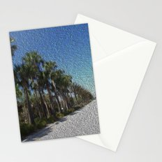 Infinite Palm Trees Stationery Cards