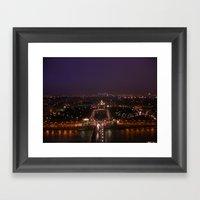 Paris At Night 3 Framed Art Print