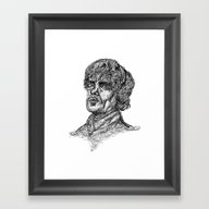 Always  Pays His Debts Framed Art Print