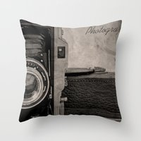 Photography Throw Pillow
