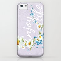 iPhone 5c Cases featuring enjoy life! by ale85