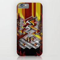 iPhone & iPod Case featuring Marble Madness: Where Good Marbles Go To Die by LightningArts