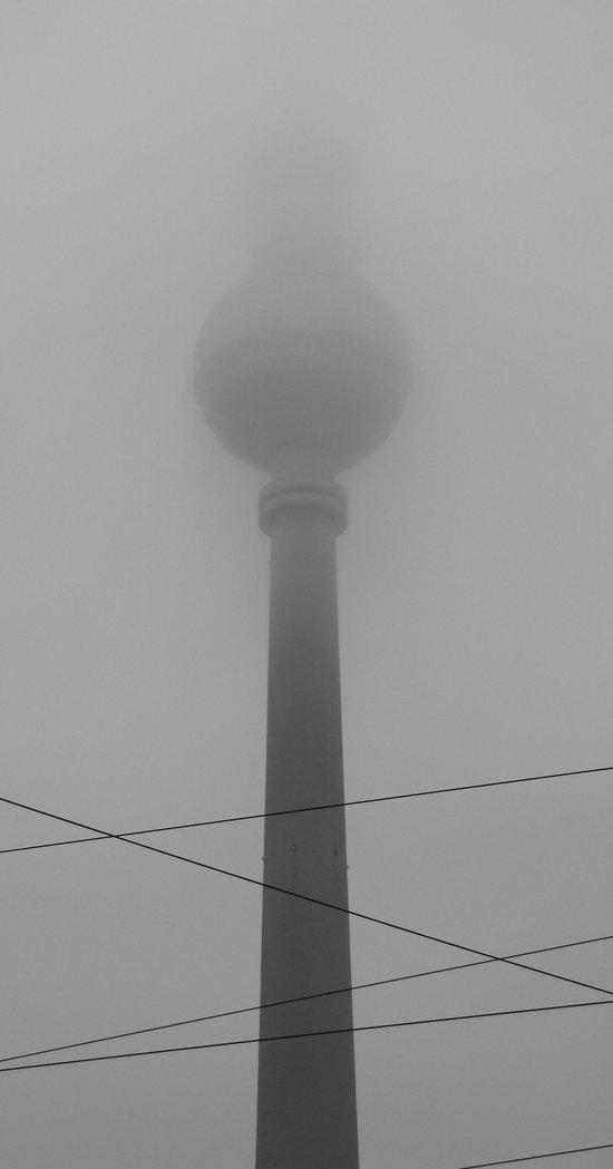 Fade to Grey (Berlin) Canvas Print