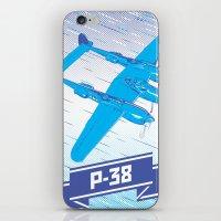 P-38 Lightning iPhone & iPod Skin