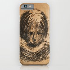sad girl iPhone 6s Slim Case