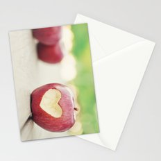 Love apple Stationery Cards