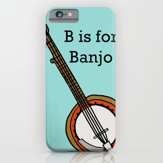 B is for Banjo, typed. iPhone & iPod Case