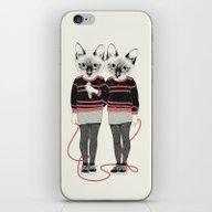 Siamese Twins iPhone & iPod Skin