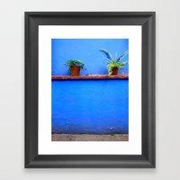 Standing sentry at La Casa Azul Framed Art Print