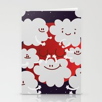 Bloody moon Stationery Cards