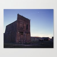 Bodie Barn Canvas Print