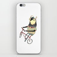 Deer On Bike.  iPhone & iPod Skin