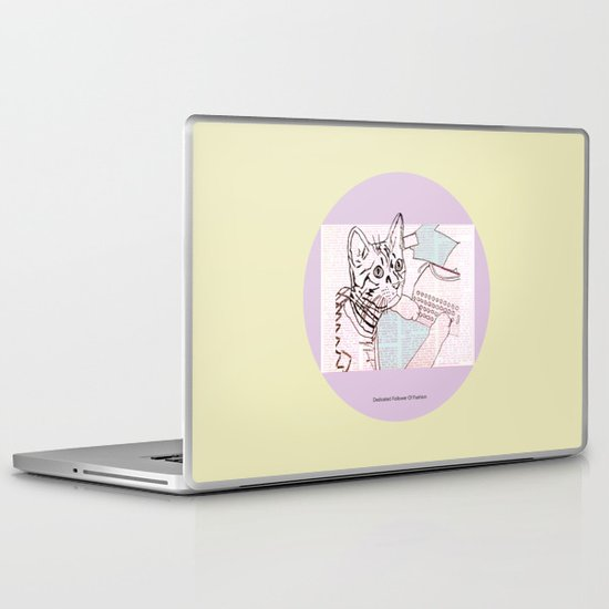 Dedicated Follower Of Fashion  Laptop & iPad Skin
