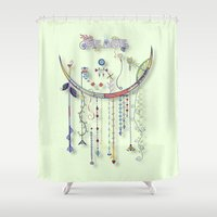 Peace of the Innocent Shower Curtain