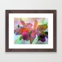 Easter Orchids Framed Art Print