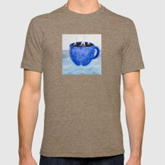 The Wind In Your Sails Mens Fitted Tee Tri-Coffee SMALL