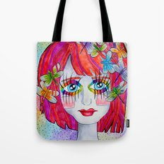 Miss Elm Tote Bag