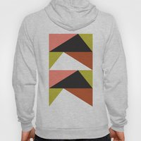 Pink, lime black triangle pattern (2015) Hoody
