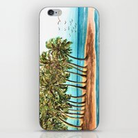 Private Island Painting iPhone & iPod Skin