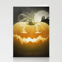 Pumpkin I. Stationery Cards