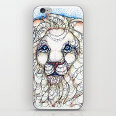 White Lion iPhone & iPod Skin