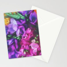Freesias Stationery Cards