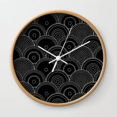 Black & white Idea Wall Clock