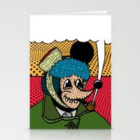 SEVERED EAR.  (Self Port… Stationery Cards