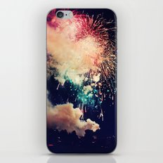 Bursts of light. iPhone & iPod Skin