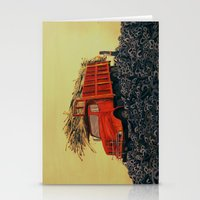 Sugar Cane And Truck On … Stationery Cards