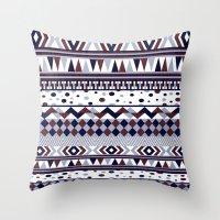 Tribal Vibe Throw Pillow