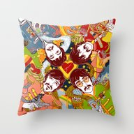 Sgt. Pepper's Lonely Hea… Throw Pillow