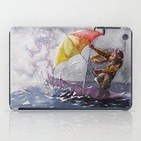 Umbrella Man iPad Case