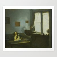 The Waiting Room  Art Print