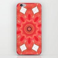 Burning love iPhone & iPod Skin