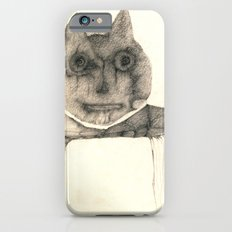 cat on the table iPhone 6 Slim Case