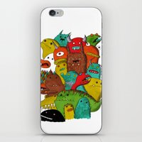 Mile-End Monsters iPhone & iPod Skin