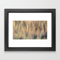 Abstract Trees Vintage S… Framed Art Print