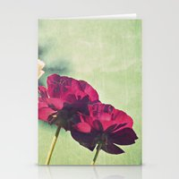 Spring Botanical -- Deep… Stationery Cards