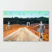 Get Us Out Canvas Print