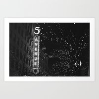 Holiday In The City Art Print