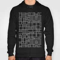 Map Lines Silver Hoody