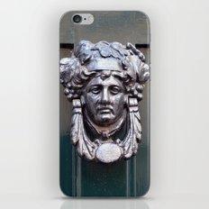 Door knocker iPhone & iPod Skin